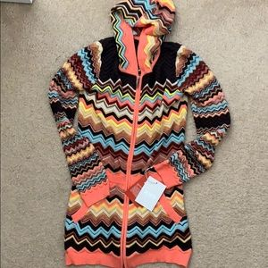 Missoni for Target youth XL cardigan sweater